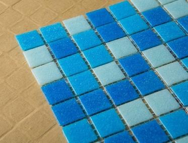 мозаика для бассейна на бумаге