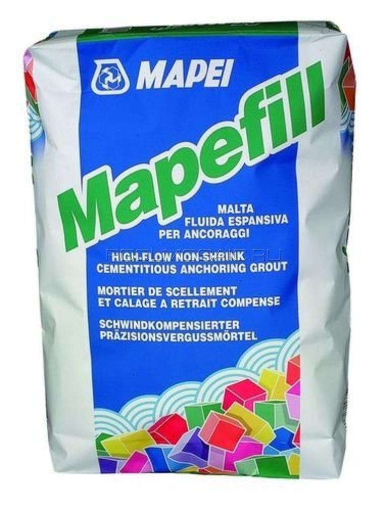Подливочно-анкерный состав Mapefill (мапефилл)