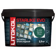 Эпоксидная затирка STARLIKE EVO S.430 Verde Pino 2,5 кг.