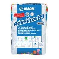 клей для укладки мозаики Клей ADESILEX P9 серый